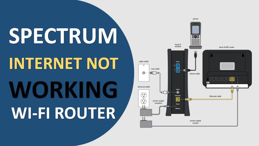 spectrum internet not working