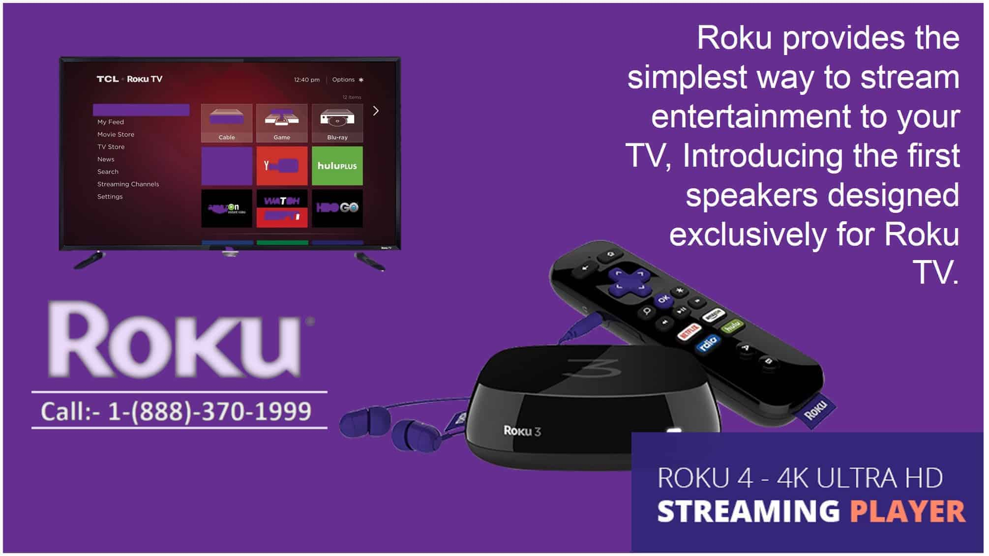 Roku customer support number