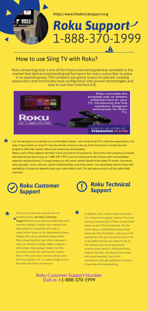 Roku customer support number