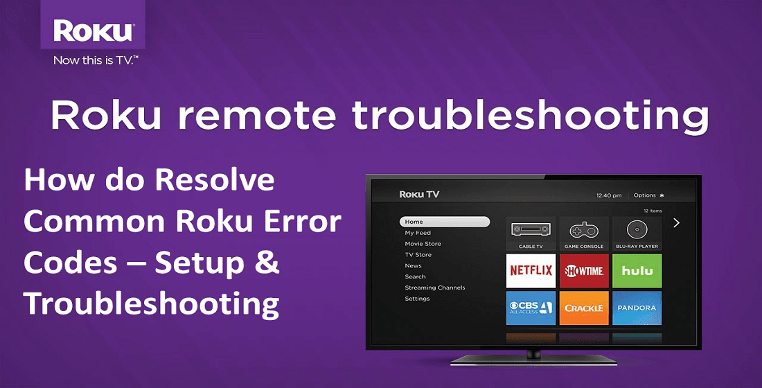 roku troubleshoot