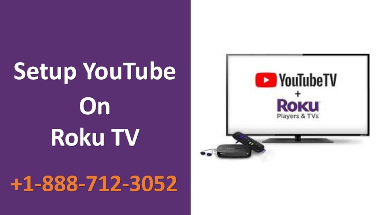 setup youtube on roku tv