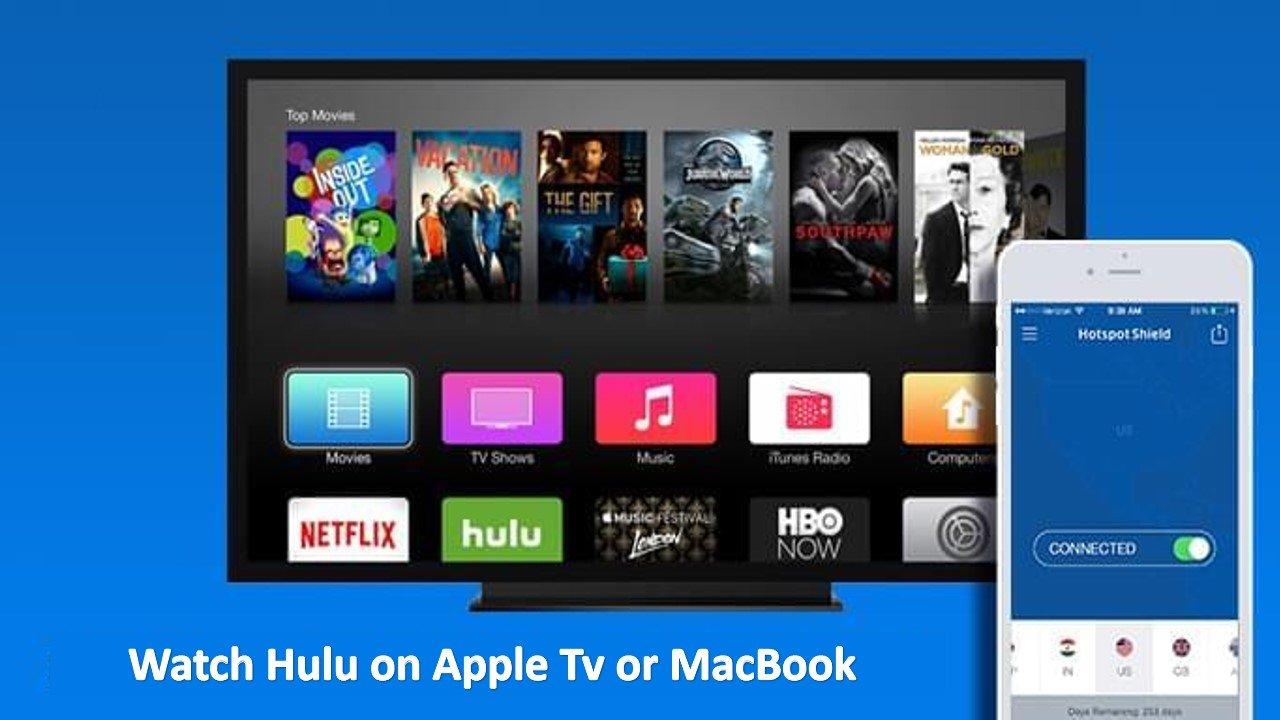 watch hulu on apple tv