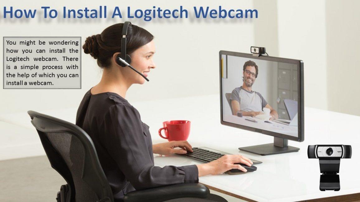 install logitech webcam